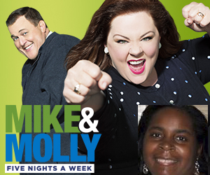 """The Detroit Winner of the """"Mike & Molly"""" """"Make a Date"""" Sweepstakes getaway to Hollywood is Tonia Taylor of Detroit, MI. (credit: Warner Bros. Television)"""