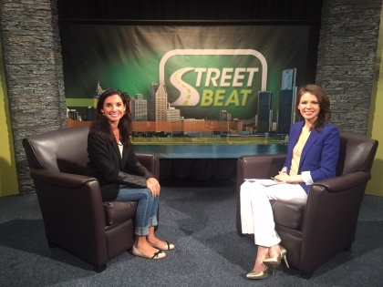 Treger Strasberg, the Co-Founder and CEO of Humble Design, tells Street Beat host Karen Carter how she helps people moving out of transitional housing and into a place of their own by providing furniture and other household items. (credit: Sydney Bowden/CW50)