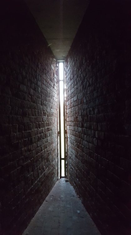 Inside of casemate at Historic Fort Wayne (Photo Credit: Kris Kelly, CBS62/CW50)
