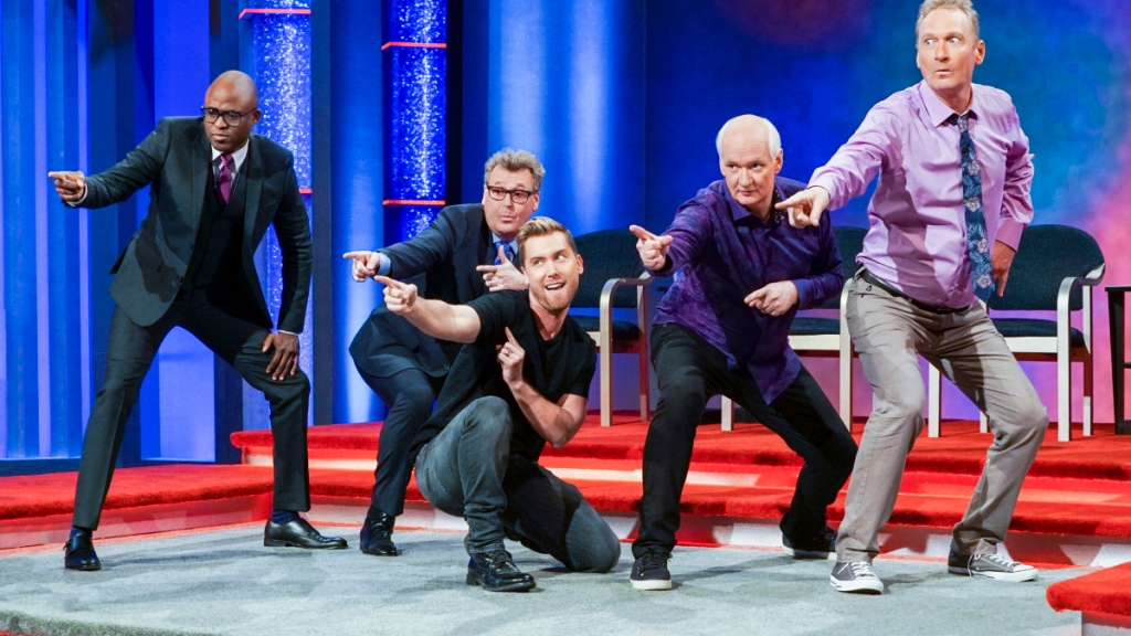 Whose line it is anyway
