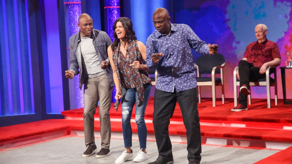 andrea navedo whose line is it anyway cw50 detroit. Black Bedroom Furniture Sets. Home Design Ideas